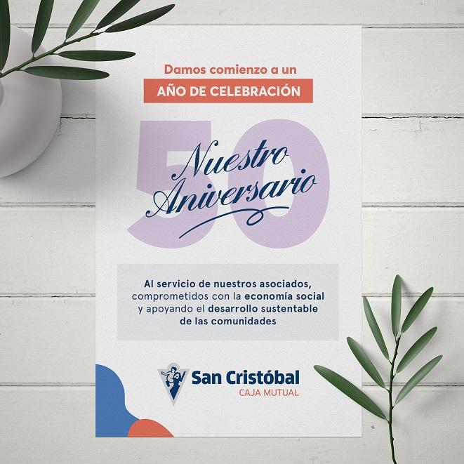 San Cristóbal Caja Mutual y su 50° aniversario✨