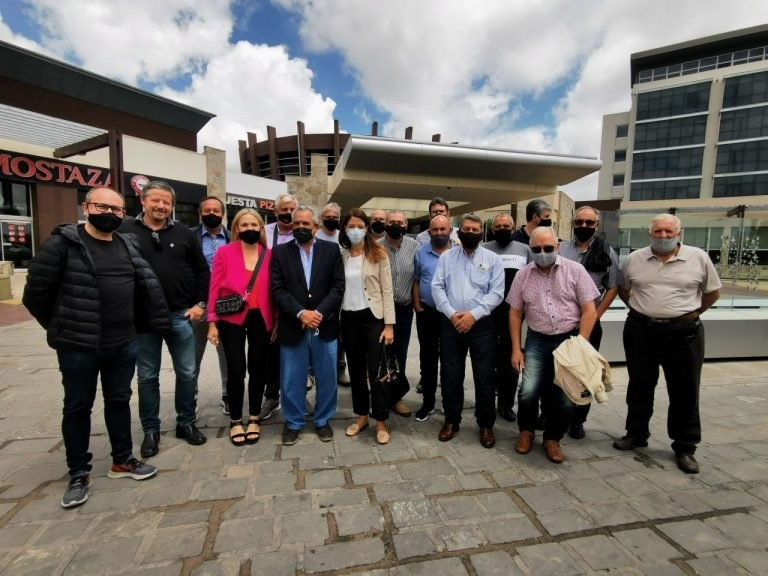 Delegados de FEMUCOR juntos a delegación de CAM visitaron FECOVITA